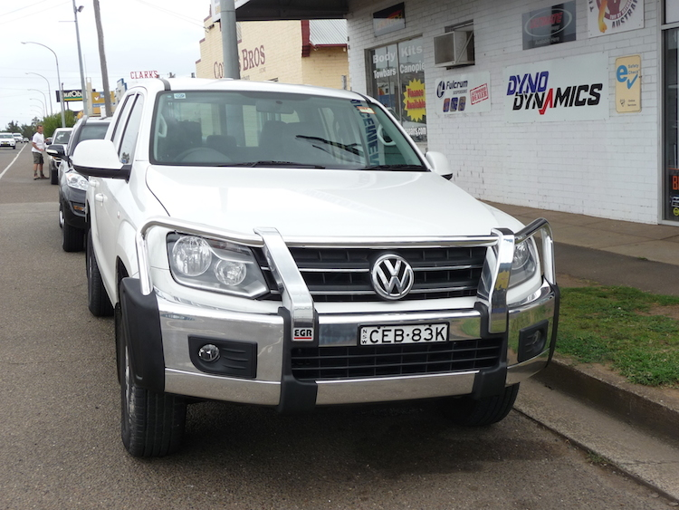 EGR Bull Bar for VW Amarok